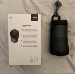 bose soundlink revolve speaker - black
