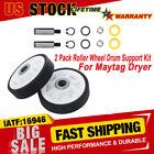 For Maytag Dryer Roller Wheel Drum Support Kits 303373K Dryer Maintenance Repair photo
