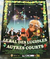 Affiche cinéma LE BAL DES LUCIOLES ET AUTRES COURTS 120x160cm Poster / Animation