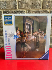 Ravensburger 1000 pc Puzzle Degas School of Dance Art Series