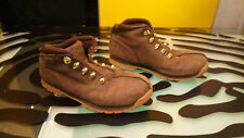 Timberland Boys Size 4.5 hiking boots pretty good condition Youth - No Laces