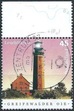 E.2 - BRD federal 2004 faro oie mi.2409 con sello borde trozo de lujo!