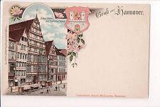 Vintage Postcard Royal palaces & sights Hannover Germany