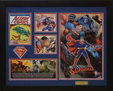 Superman DC Comics Limited Edition Framed Memorabilia (b)