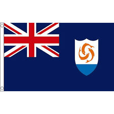 Anguilla Union Flag Large 5 x 3 FT - Caribbean Island Country Commonwealth