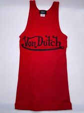 Von Dutch Orginals NWT Ribbed Tank Top