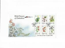 Zimbabwe - 1989 - Wild Flowers First Day Cover