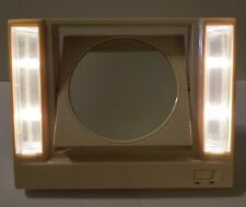 Avon Reflections of Beauty Lighted Make-Up Mirror Vintage 1986 NIB