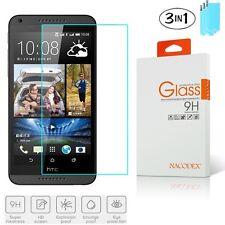 3x Nacodex For HTC Desire 610 Premium HD Tempered Glass Screen Protector Flim