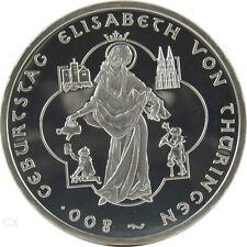 *** 10 Euro DEUTSCHLAND 2007 A Elisabeth von Thüringen Spiegelglanz PP ***
