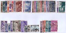 ITALIA REPUBBLICA 1948/53 - SERIE USATE VARIE € 147