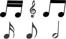 "Autoaufkleber ""Musiknoten"" Musik Noten Notenschlüssel Aufkleber Karosserie"