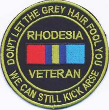 Rhodesia Veteran Badge
