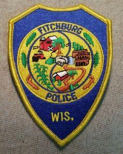 WI Fitchburg Wisconsin Police Patch