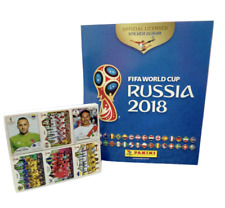 PANINI Russia 2018 World Cup Complete Sticker Collection +Free Hard Cover Album