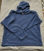 Blue Patagonia Synchilla Fleece Pullover Hoodie Size XXL