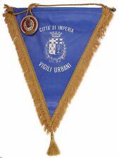 Fanion ~ ( bandiera ) ♦ insegne della polizia locale citta di Imperia - Italia