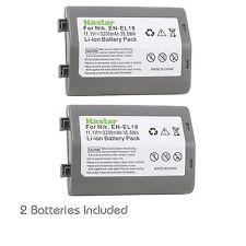 2x Kastar Battery for Nikon EN-EL18 ENEL18 D4 D4s D5 Nikon MB-D12