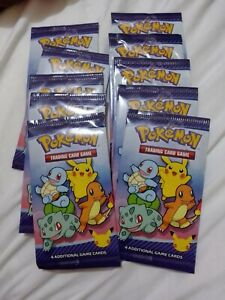 2021 McDONALD'S Pokemon Cards Trading Card Game 10 packs Happy MEAL