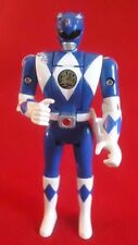 Bandai MIGHTY MORPHIN POWER RANGERS FLIP HEAD ACTION FIGURES 1993 - BLUE RANGER