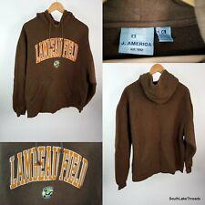 Unisex Lambeau Field Hooded Sweatshirt Green Bay Packers XL Brown Embroidered