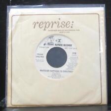 "Frank Sinatra - Whatever Happened To Christmas? 7"" Mint- 0790 Vinyl 45 promo"