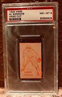 1928 W565 Strip Card Al Simmons Outfielder Hand Cut PSA 8 HOF Pop 7