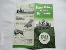 Case Side Delivery Rakes Brochure