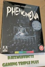 PHENOMENA 3 DISC LIMITED EDITION BLU-RAY + CD SET (CREEPERS) REGION B (ARGENTO)