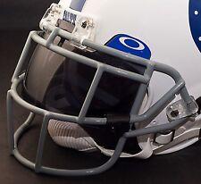 INDIANAPOLIS COLTS NFL Schutt EGOP Football Helmet Facemask/Faceguard (GRAY)