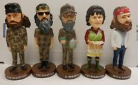 Duck Dynasty lot of 5 Bobbleheads Willie Jase Kay Phil Si Robertson 021120DBT4
