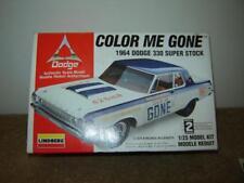 Lindberg 1996 Model kit #72156 1/25 Scale 1964 Dodge 330 Super Stock Mint Kit