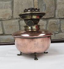 Vintage/Antique Benham & Froud Copper Oil Lamp with Hinks No 2 Burner