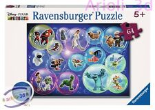 DISNEY FAVORITES 5585 RAVENSBURGER PUZZLE NEMO WALL-E TOY STORY MONSTERS INC NEW