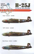 Eagle CAL 1/32 B-25J Mitchell 345th BG Air APACHES # 32145