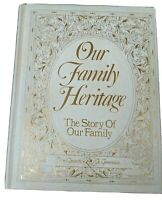 Our Family Heritage (Story of Our Family) F. Michael Carroll 1982 1st Edition