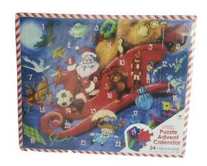 Countdown to Christmas Puzzle Advent Calendar 24 nine piece puzzles