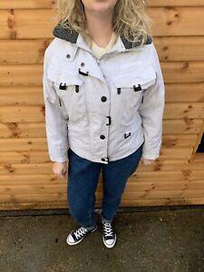Trespass Ski Snow System Winter Jacket Womens Size 8 White