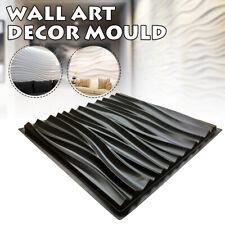 Wall Stone Mold Concrete Molds 3D Tile Panels Form Plaster Art Decor Moulds Kits