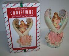 "House of Lloyd Christmas Around the World Heaven's Dawn 8"" Angel Wind Up Nib"