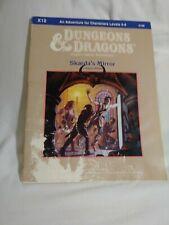 TSR 9188 Dungeons & Dragons Adventure module - Skarda's Mirror - D&D Expert