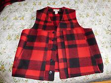 Filson  Wool Vest sz 42 . made in USA