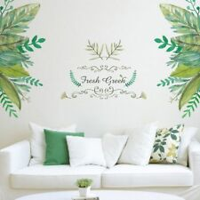Plant Background Decal Decoration Mural Door Wall Sticker Room Decor Wall Art