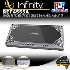 Infinity Ref-4555a Reference Series 5-channel 1500watts Peak Car Amplifier