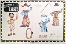 The Adventures of Barney Paper Doll, 1998, Mag. by Jodi & Richard Creager