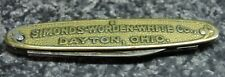 Morley and Son Advertisement Knife Simonds Worden White Co. 2 Blade