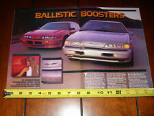 1989 FORD THUNDERBIRD SC SUPER COUPE vs. 1989 PONTIAC McLAREN GRAND PRIX