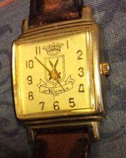 Orologio Newman 1902 cassa in acciaio cinturino in pelle quadrante quadrato
