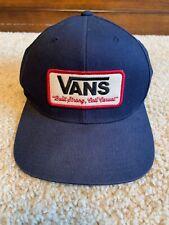 Vans Snapback Hat Patch Cali Casual