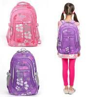 Kids Backpack Primary School Book Bag Student Children Girls Satchel Rucksack UK